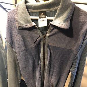 Men's Versace zip up jacket